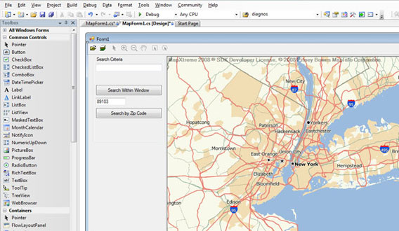 MapXtreme-Rich-GIS-Functionality